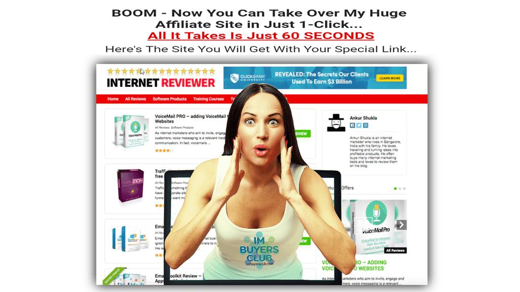 1-Click Affiliate Site