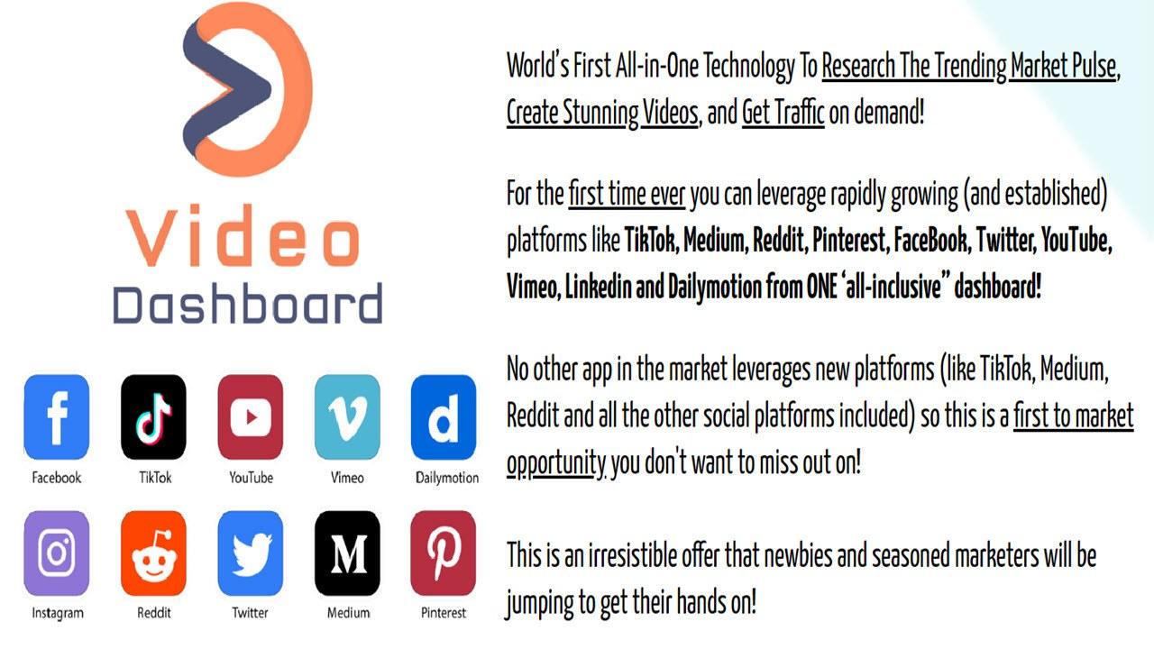 Video Dashboard